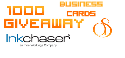 InkChaser.com 1,000 FREE Business Card Giveaway!