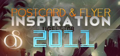 Best (so far) Postcard & Flyer Design Inspiration Posts of 2011