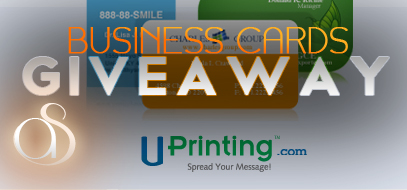UPrinting.com FREE Die Cut Business Cards GIVEAWAY!