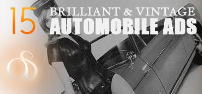 15 Brilliant Vintage Automobile Ads