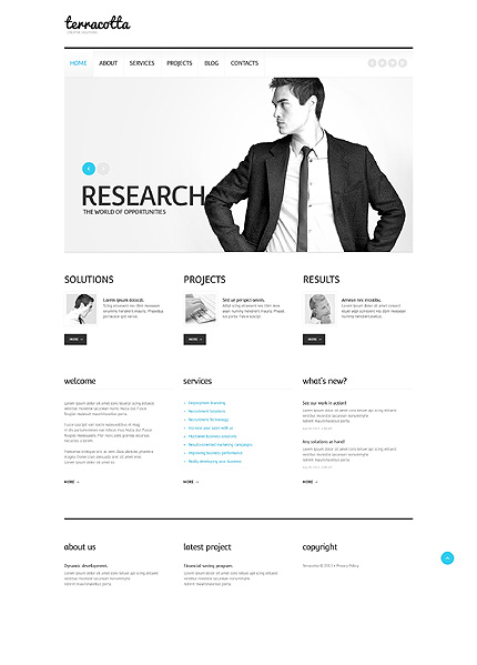 Marketing Business WordPress Theme
