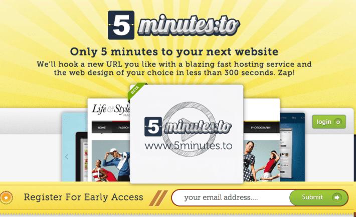 5-minutes-website