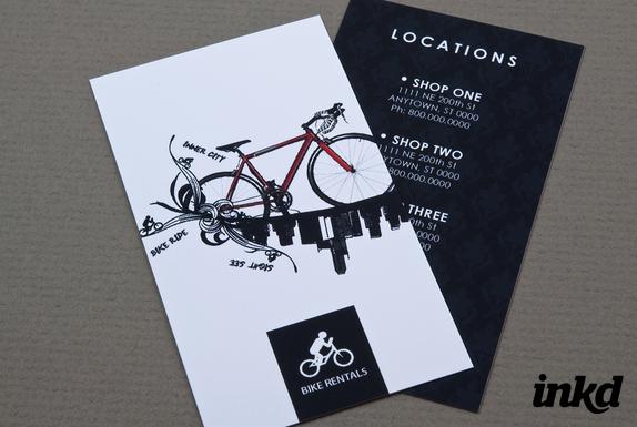 50 inspirational stylish  eyecatching rack card print