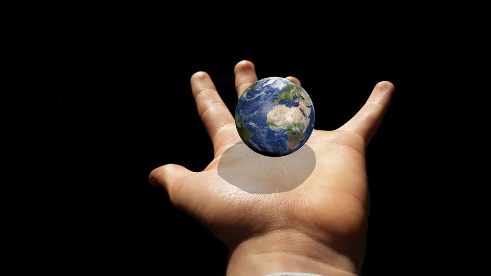 Keep Planet Globe Earth Hand