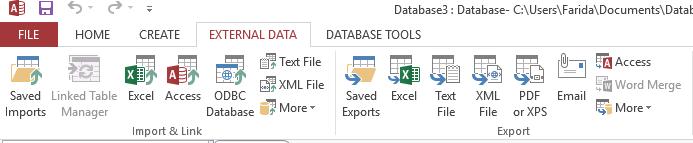 Microsoft Access 5
