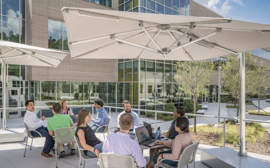 Outdoor workspaces 4