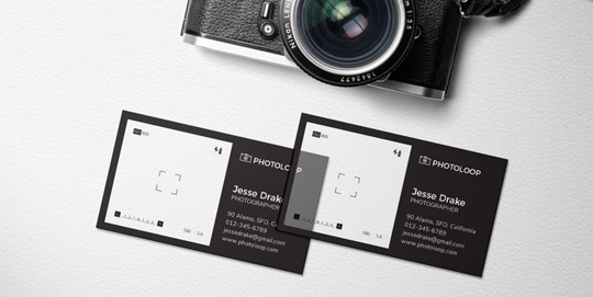 Plastic-Business-Card-Mock-Up