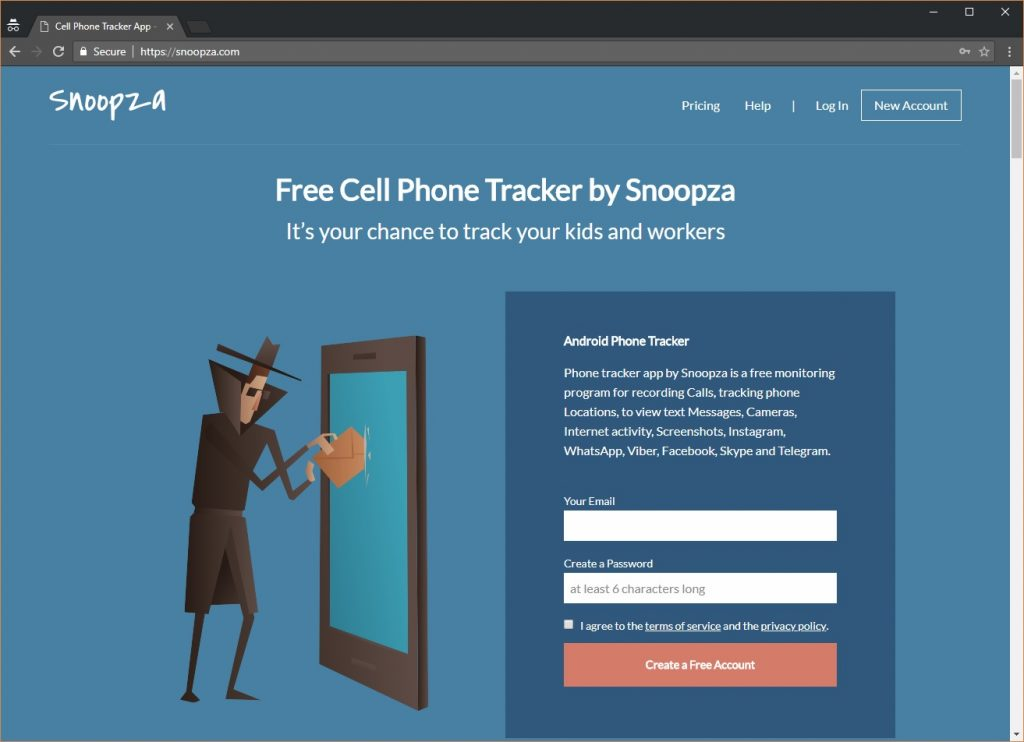 Snoopza Free Keylogger For Android Best Free Spy Monitoring Tool