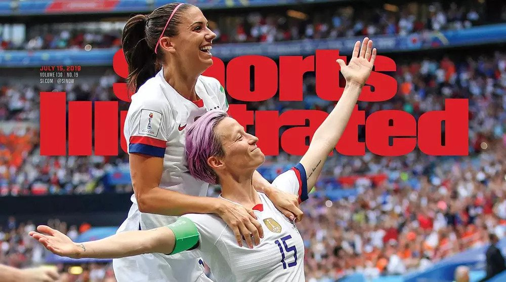 Sports Illustrated cover 2019 world cup womens