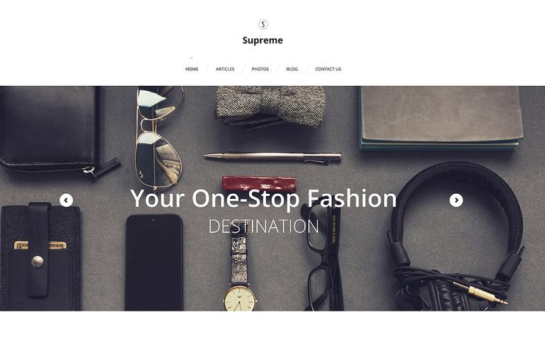 Supreme WordPress Theme