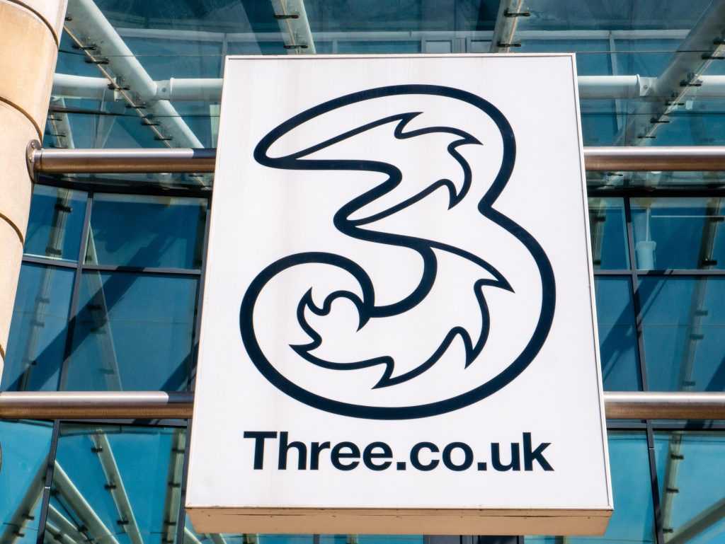 Three is a mobile network-uk-tech