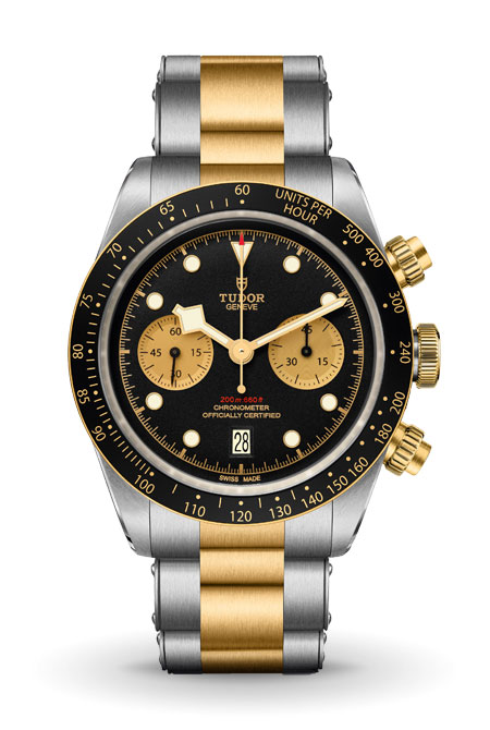 Tudor Black Bay watch geek fashion