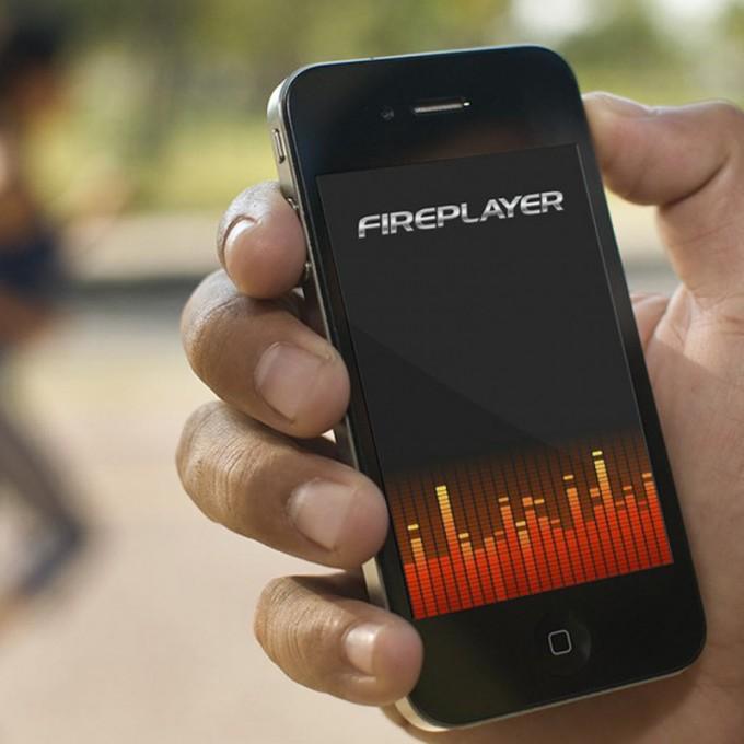 UI Design Soniq Fireplayer