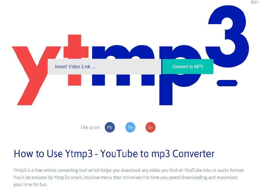 Ytmp3-Youtube-mp3-converter