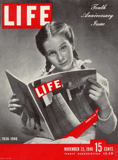 Image result for the first life magazine hit the newsstands 1936