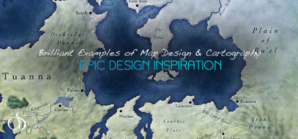 70+ Epic Map Design