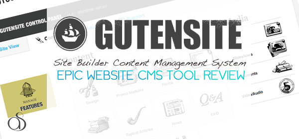 Gutensite CMS (Content Management System) Review