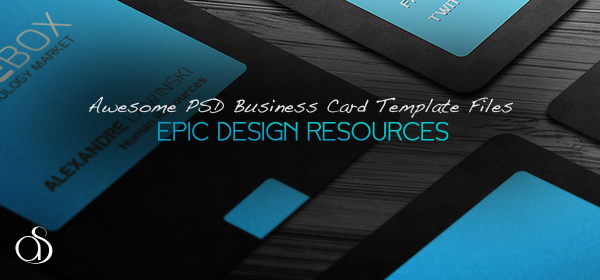 50+ Epic PSD Business Card Template Files