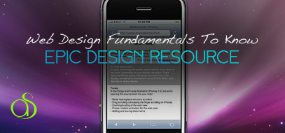 Web Design Fundamentals That Every Web Designer Must Know