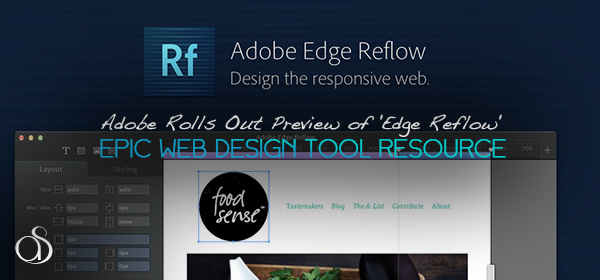 Adobe Rolls Out Preview of 'Edge Reflow' Web Design Tool