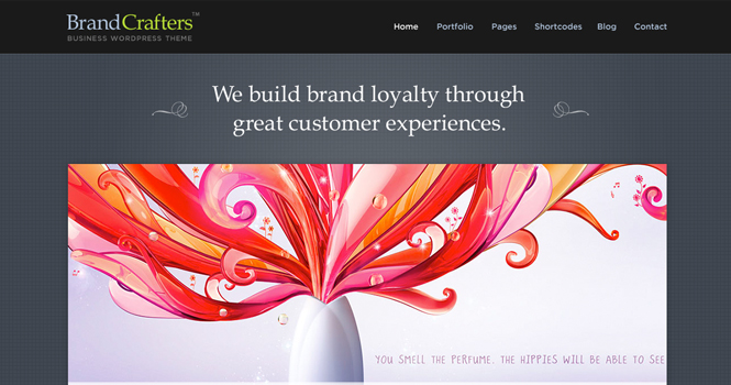Clean Business WordPress Theme - Brand Crafters