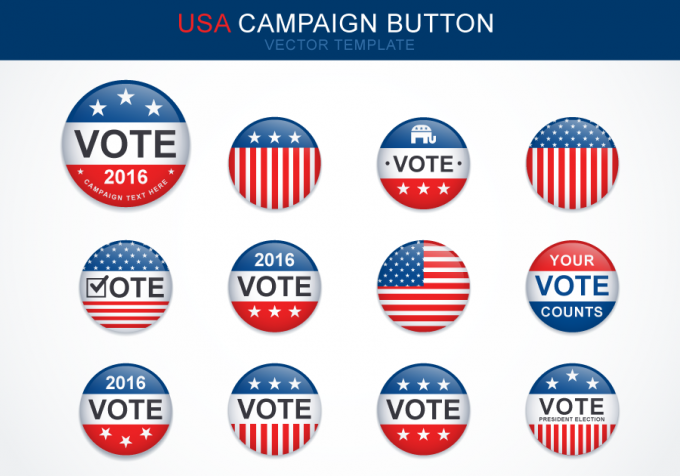 campaign-button-template-vector-preview