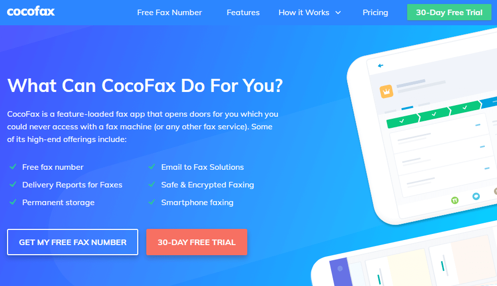 cocofax-features