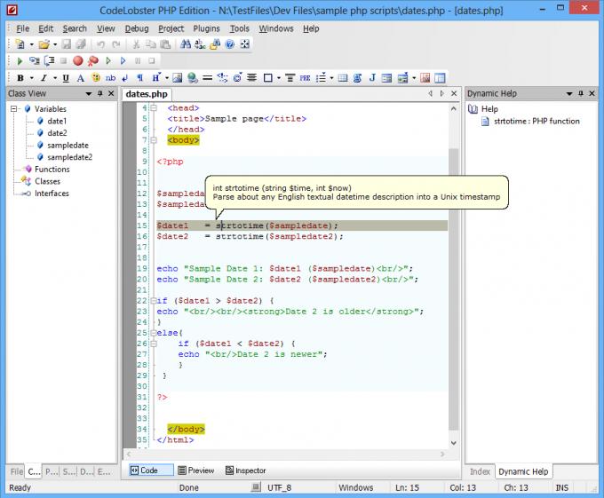 codelobster-screenshot