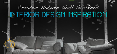 Creative Examples of Nature Wall Stickers