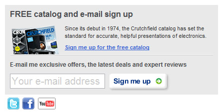 crutchfield-newsletter-form