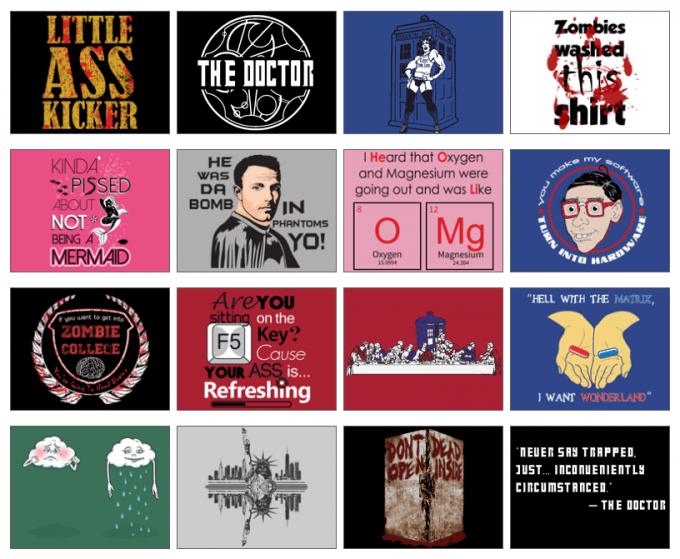 dorktees-giveaway-tshirt-selection