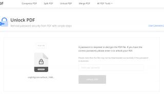 EasePDF Unlock PDF Enter Password