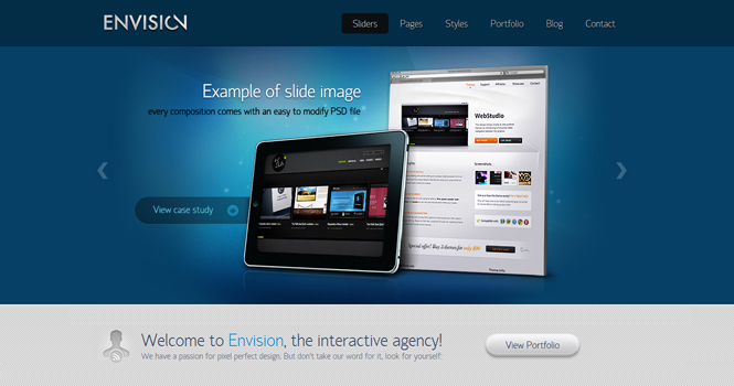 Business WordPress Theme - Envision