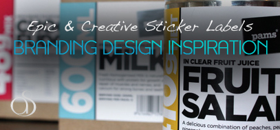 40+ Creative Sticker Label Inspirations In Package Design