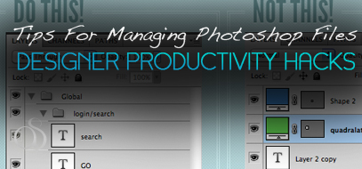 Tips for Managing and Organizing Photoshop Files