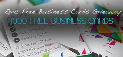 1000 Business Cards for Free from 1800Postcards.com!