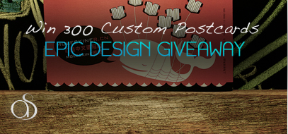 Win 300 Custom Postcards from 1800Postcards.com!