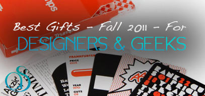 Best Gifts for Designers – Fall 2011
