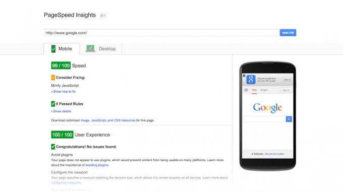 google-page-speed-seo-insights
