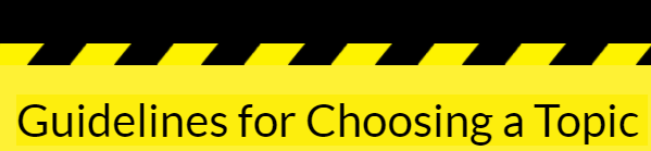 guidelines-for-choosing-a-topic