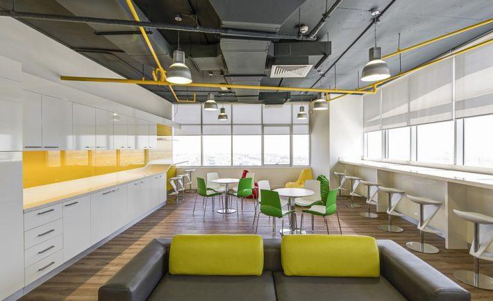 High Tech Decor In Fancy Office Inspiration Ideas