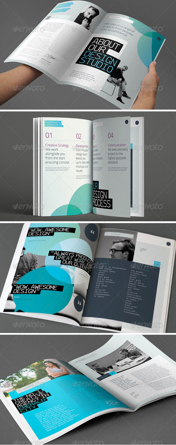 highlight-flat-colorful-brochure-template-thin-typography