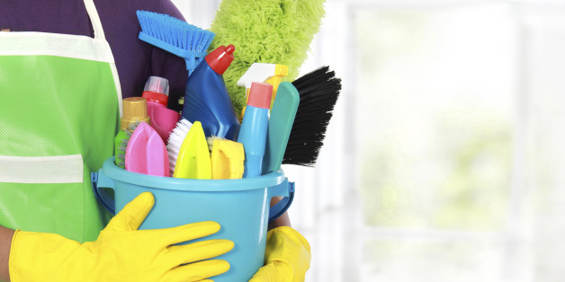 hiring a service to clean your office