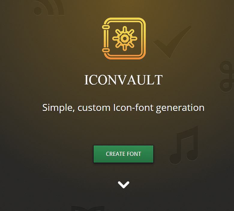 icon-vault-custom-font-generator