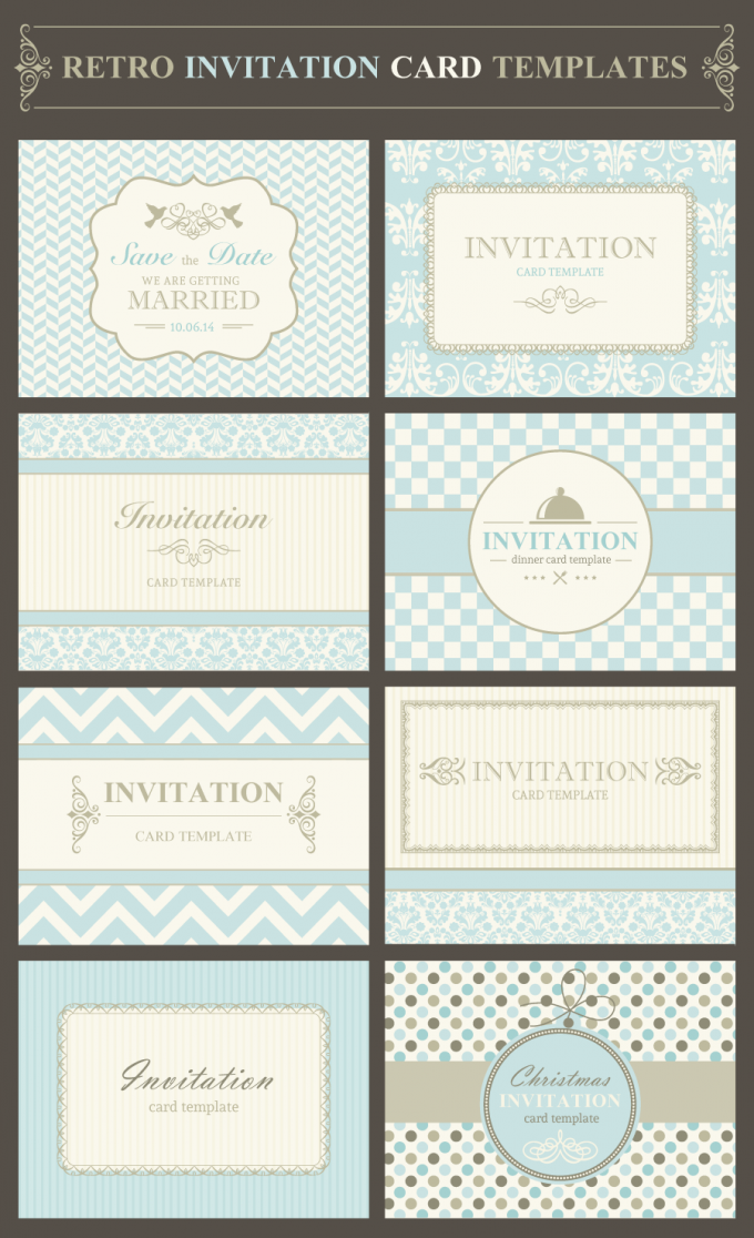 invitation-card-template-vector-pack-preview