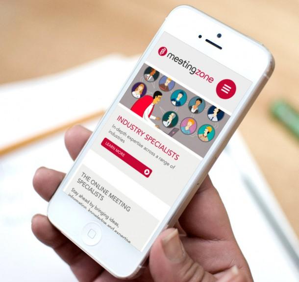 meetingzone -mobile design