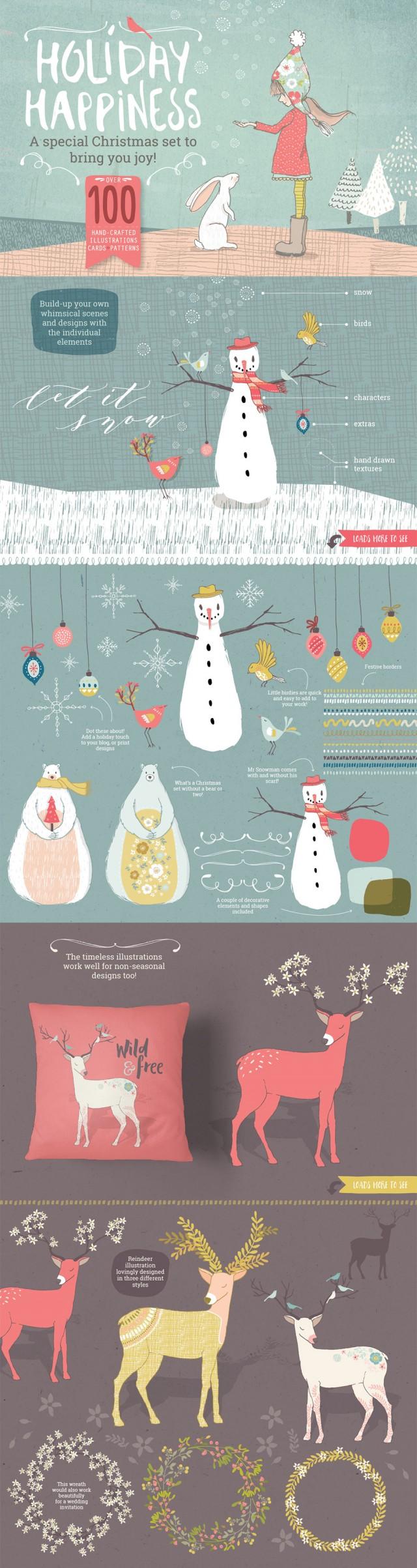 november-vectors-2016-fall-holiday-illustration-design-bundle