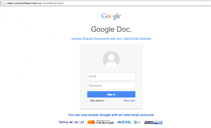 phishing-with-help-from-compromised-wordpress-site