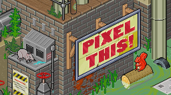 Learn how to draw pixel art in photoshop