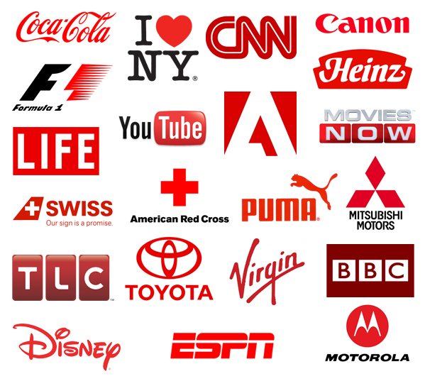 red-color-in-logos